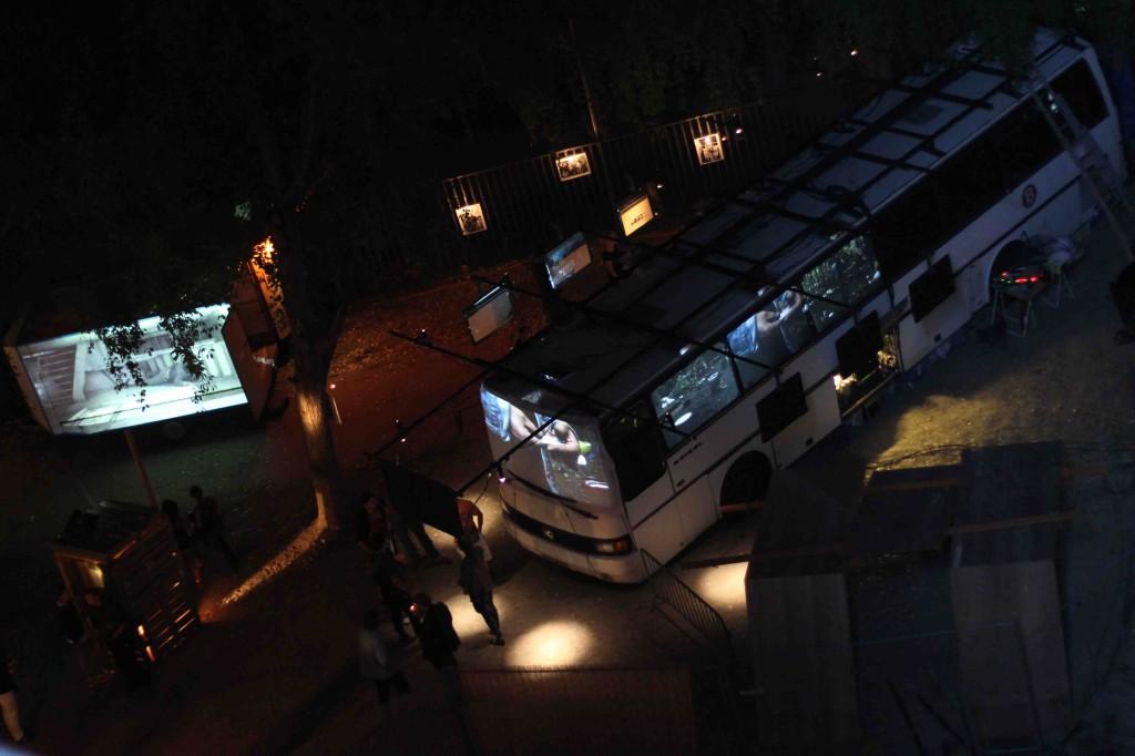 le Bus au 6b, vue de dessus
