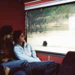 Le Bus de l'Alternative Nomade à la Villette en juin 2006