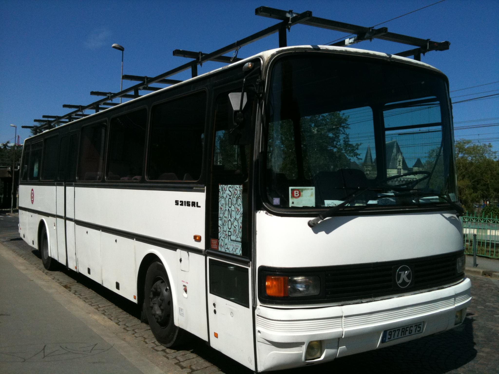 bus profil avant LU