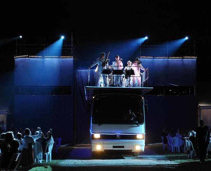 mondial a petanque - entree du Bus