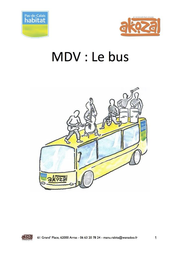 premiere page memoire d'une ville et le bus